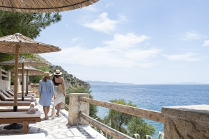Landscape Photos Balcony by the sea Next to Athens Photo sea restaurant Balcony with view Attica nature