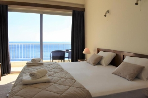 Megara Kineta Attica Double Bed Beach Rooms quality Sea View